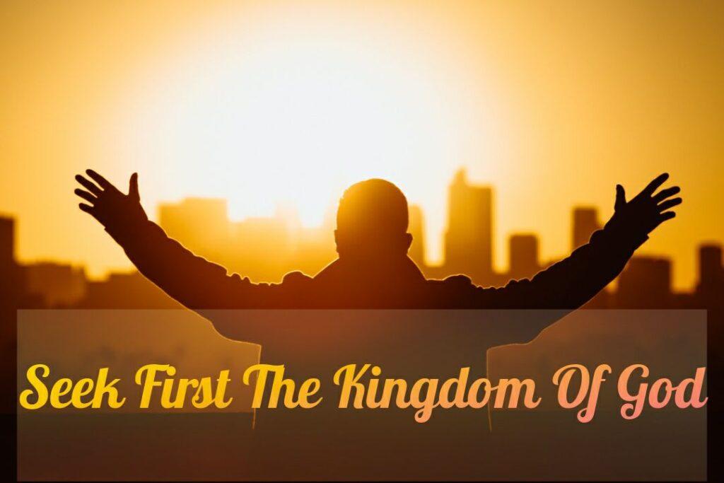 Matthew 6:33 Meaning