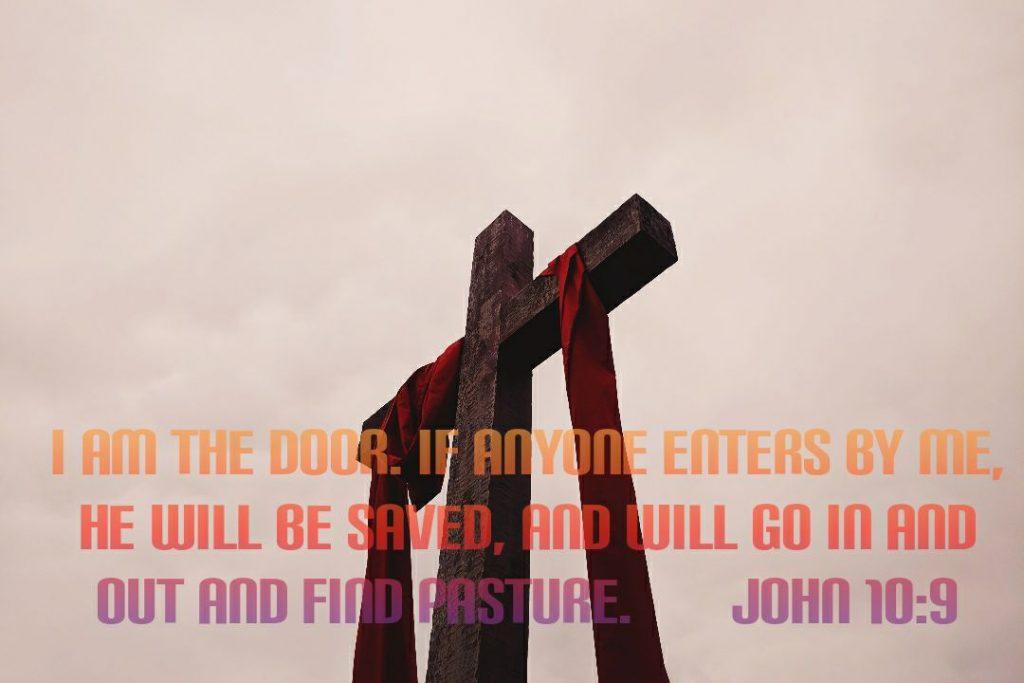 bible verse meaning Of John 10:9